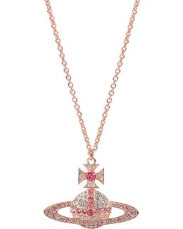 Kika Large Pendant Pink Gold/rose