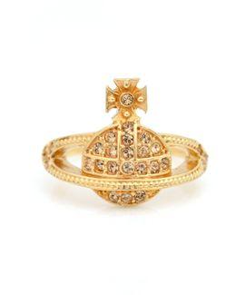 Mini Orb Ring Gold