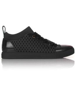 Orb Sneakers With Sock Black