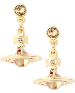 Petite Orb Earrings Gold