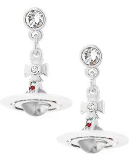 Petite Orb Earrings Silver