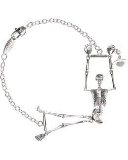 Skeleton Bracelet Palladium