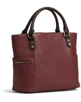 Avery Two Tone Tote
