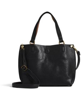 Sofia Reversible Mini Tote With Charger