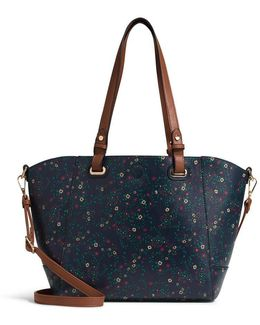 Samantha 3 In 1 Floral Tote