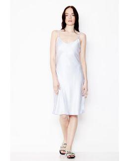 Jo Dress Pearl Grey
