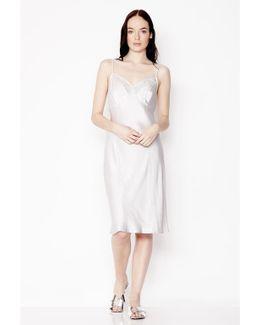Willa Dress Pearl Grey