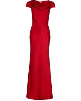 Sylvia Dress Chilli Red