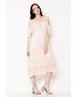Sinead Midi Dress Pale Pink