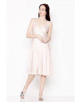Joile Slip Dress Pale Pink