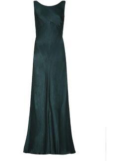 Edie Dress Emerald Sea