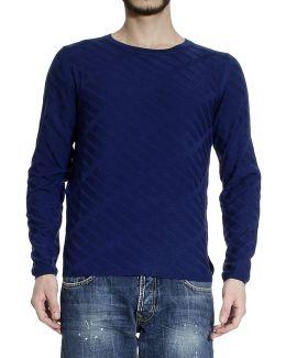 Sweater Roundneck Jaquard Geometric
