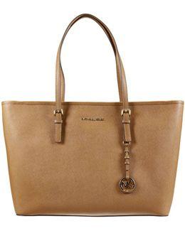 Shoulder Bag Large Jet Set Travel Tote Bag In Saffiano Leather