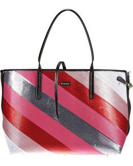 Siero Shoulder Bag Half-side Combinable With Sequins