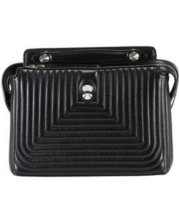 Dotcom Click Leather Satchel