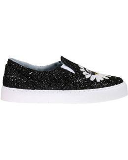 Glitter Slip-on Sneakers