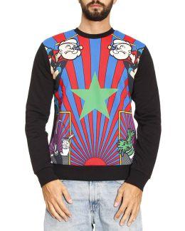 Long-sleeved Popeye Sweater