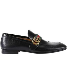 Donnie Loafers With Web Detail And Gg Monogram
