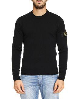 Logo-patch Sweater