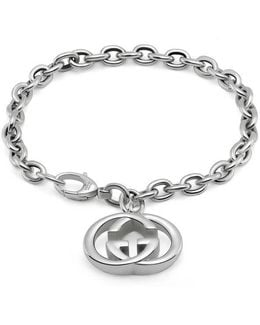 Bracelet With Interlocking G Motif Charm