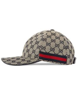 Gg Canvas Baseball Hat