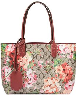 Gg Blooms Reversible Tote
