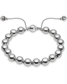 Sterling Silver Boule Bracelet