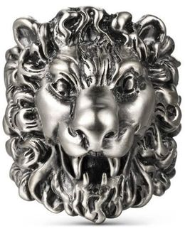 Ring With Lion Head