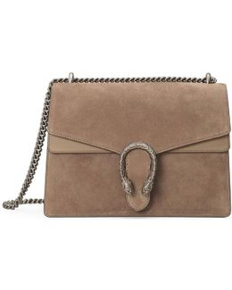 Dionysus Suede Shoulder Bag