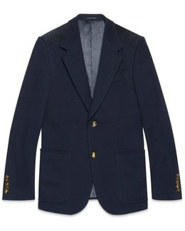 Heritage Cotton Jacket With Suede