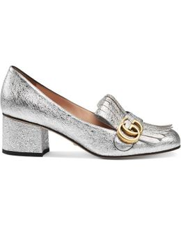 Metallic Mid-heel Pump