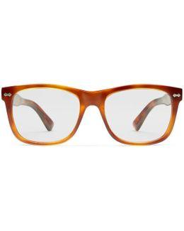 Square-frame Acetate Glasses