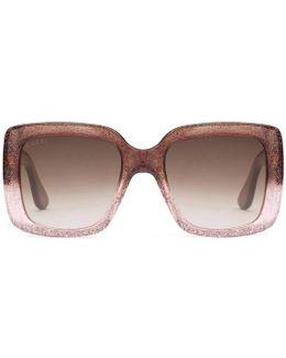 Square-frame Optyl Sunglasses
