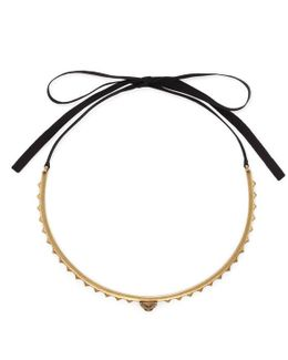 Feline Head Necklace