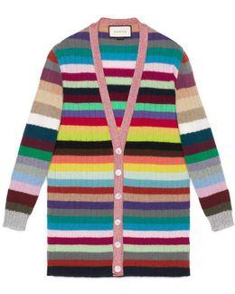 Oversize Striped Cashmere Knit