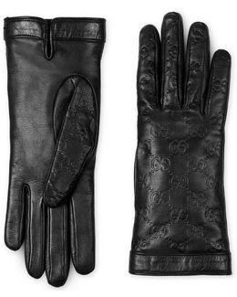 Signature Leather Glove