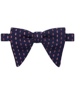Dots Pattern Bow Tie