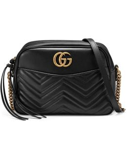 GG Marmont Matelassé Leather Shoulder Bag