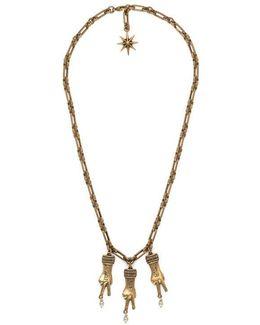 Hand Pendants Necklace