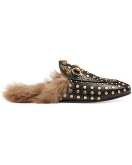 Princetown Studded Slipper