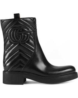 Matelassé Ankle Boot