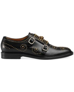 Studded Monk Shoe