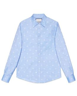 Bee Jacquard Oxford Duke Shirt