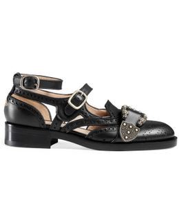 Queercore Leather Brogues