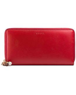 Nymphaea Zip Around Wallet