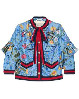 New Flora Silk Jacket