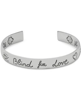 Blind For Love Bracelet In Silver