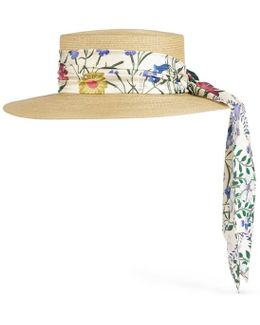 Papier Hat With New Flora Ribbon