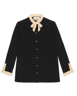 Silk Necktie Shirt