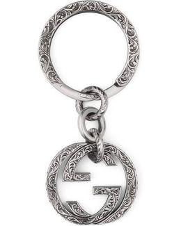 Interlocking G Key Ring